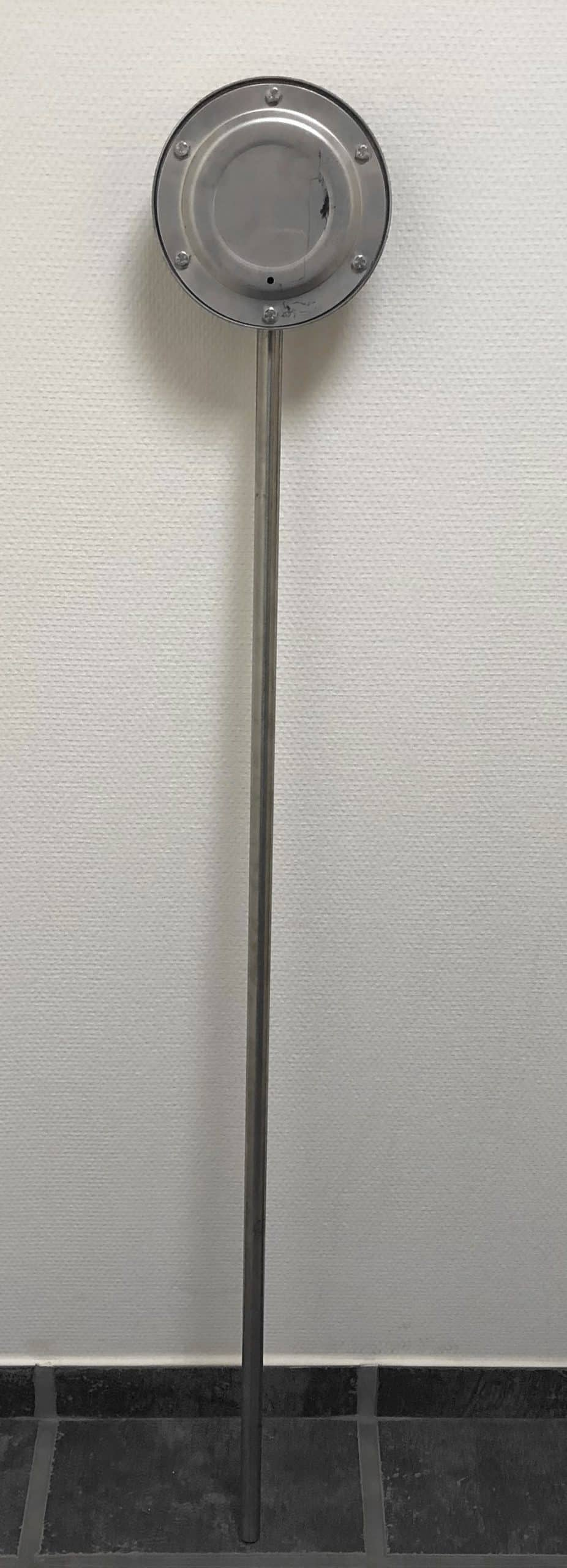 Aqua-Flow rustfri stål, 120 cm.