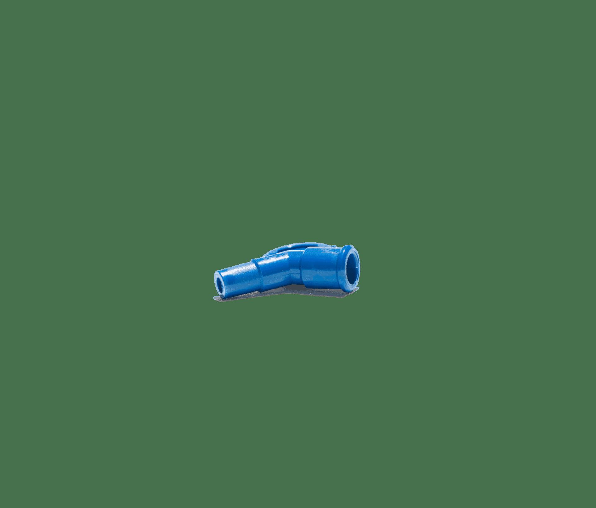 Blå vinkel 45 grader